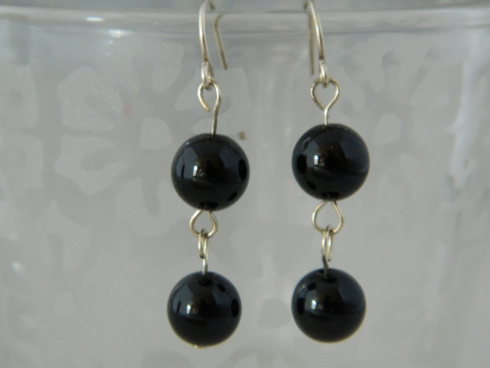Arden Jewelry Design onyx earring