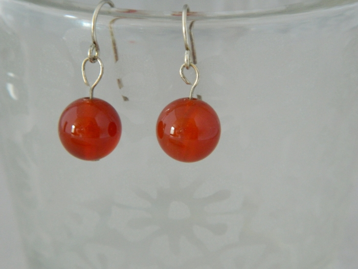 Arden Jewelry Design carnelian earring