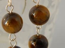 Arden Jewelry Design tigerseye earring