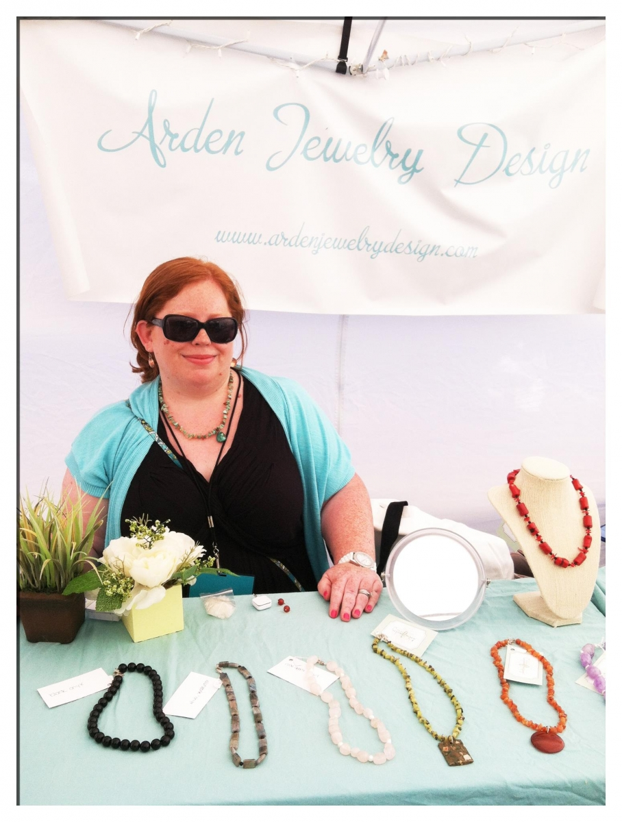 Sara Pollack, Arden Jewlery Design, photo by Robin Barrett